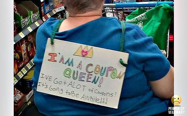 coupon queen walmart